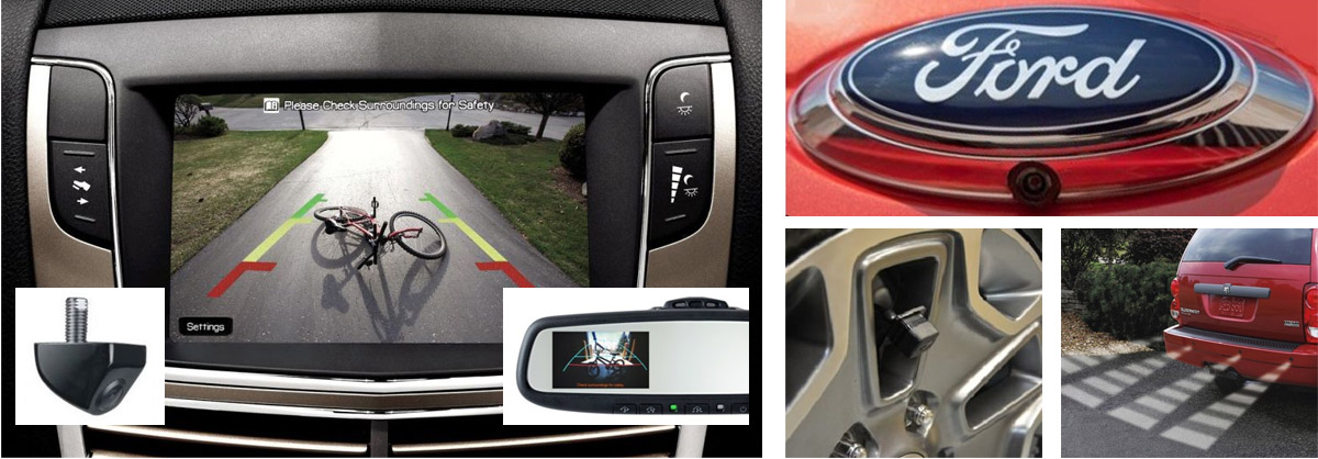 Vehicle Backup Camera Systems & Monitors