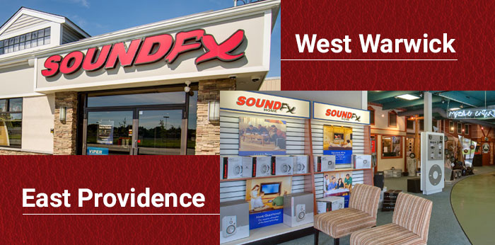 SoundFX stores in East Providence and West Warwick, RI