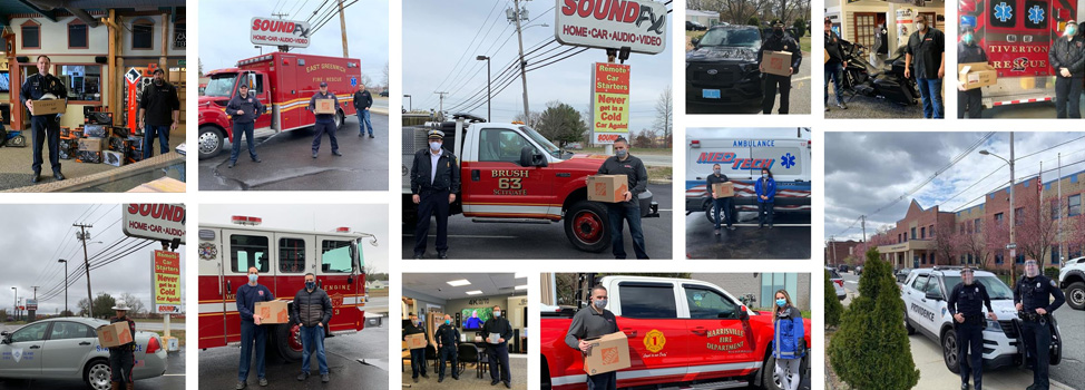 Shop local at SoundFX RI, supporter of local first responders and medical personnel