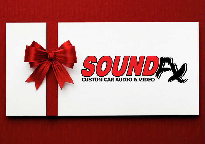 Shop safely with gift certificates from SoundFX RI